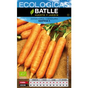 Zanahoria Nantesa 5 ecológica
