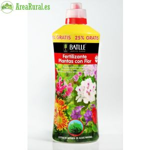Fertilizante Plantas con flor 1250ml