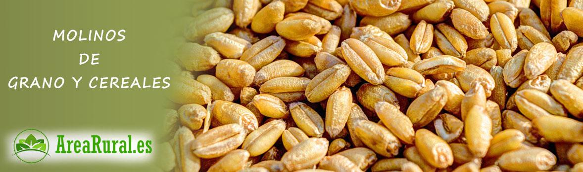 Molinos para grano y cereal