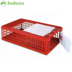 jaula transporte plástico