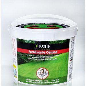 Fertilizante Césped cubo de 5 KG