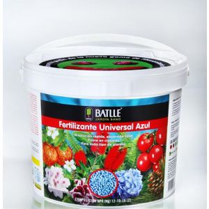 Fertilizante Universal azul cubo